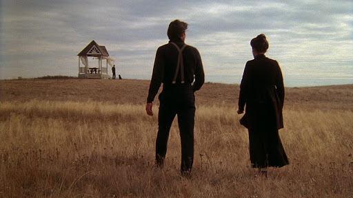 Golden hour filming for Terrence Malik's Days of Heaven
